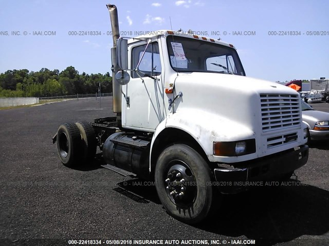 1HSHBAHN8XH607009 - 1999 INTERNATIONAL 8000 8100 WHITE photo 1