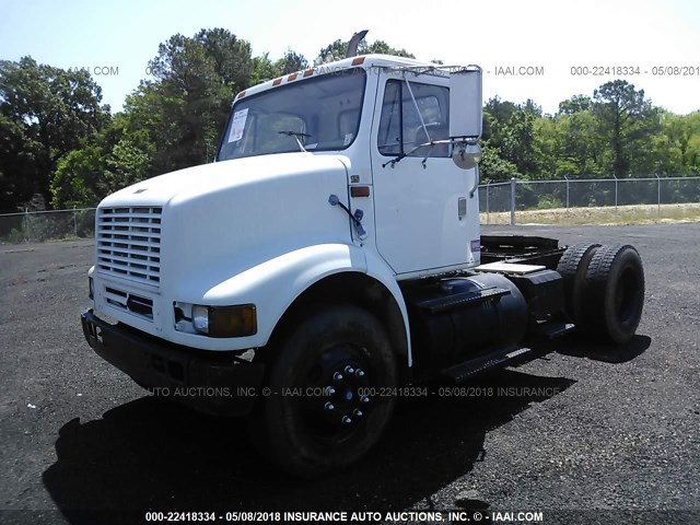 1HSHBAHN8XH607009 - 1999 INTERNATIONAL 8000 8100 WHITE photo 2
