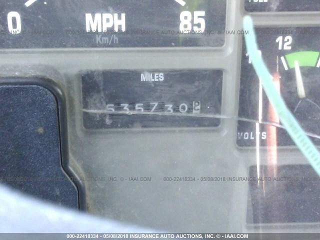 1HSHBAHN8XH607009 - 1999 INTERNATIONAL 8000 8100 WHITE photo 6