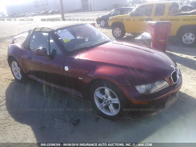 Salvation Army Auction Atlanta >> 4USCH934XYLG03358 - 2000 BMW Z3 2.3, RED - price history, history of past auctions. Prices and ...