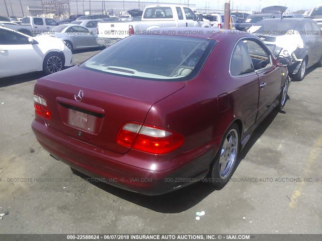 Wdblj70g2xf077264 1999 mercedes benz clk 430 burgundy for 1999 mercedes benz clk 430