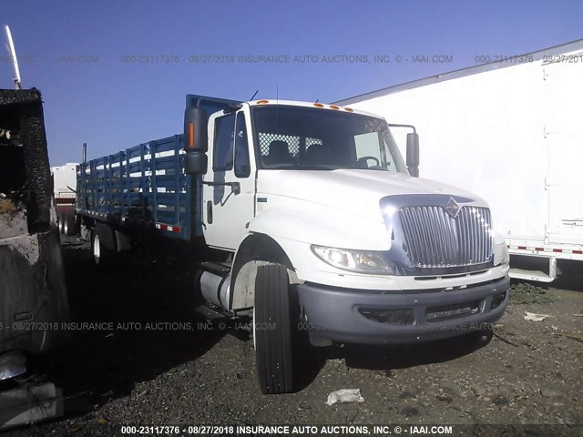 3HAMKAAN8DL248156 - 2013 INTERNATIONAL 4400 4400 WHITE photo 1