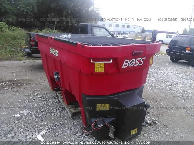 VB15618 - 2016 BOSS VBX9000 SPREADER  RED photo 1