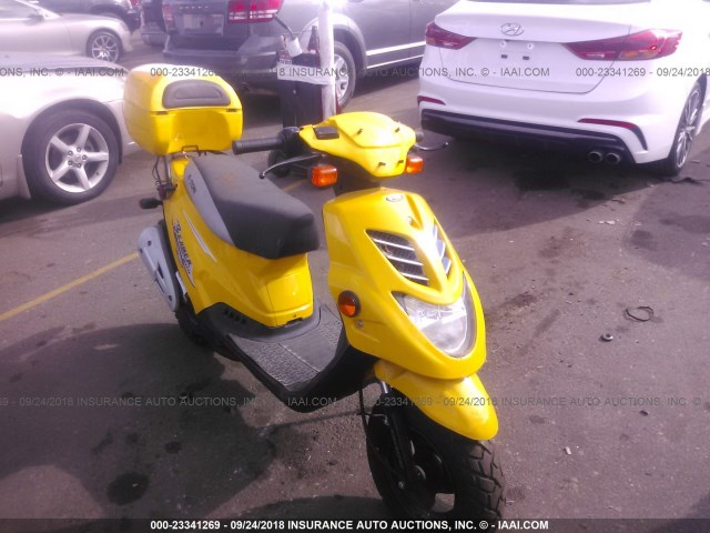 RK15BC0C55A002853 - 2005 ETON SCOOTER  YELLOW photo 1