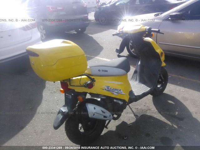 RK15BC0C55A002853 - 2005 ETON SCOOTER  YELLOW photo 4
