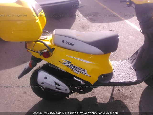 RK15BC0C55A002853 - 2005 ETON SCOOTER  YELLOW photo 8