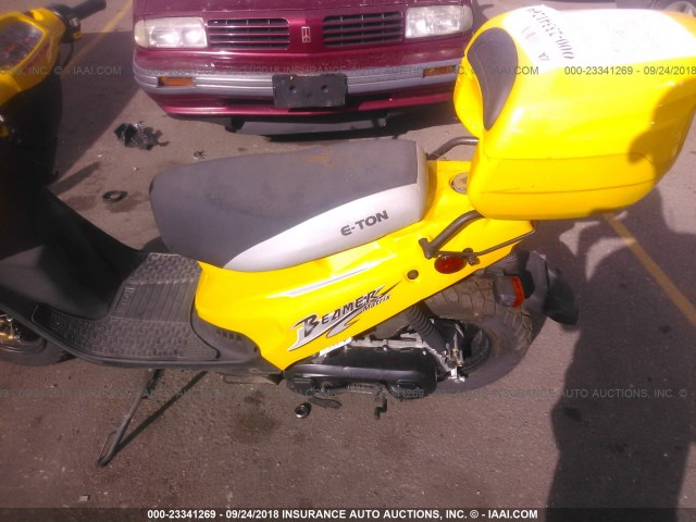 RK15BC0C55A002853 - 2005 ETON SCOOTER  YELLOW photo 9