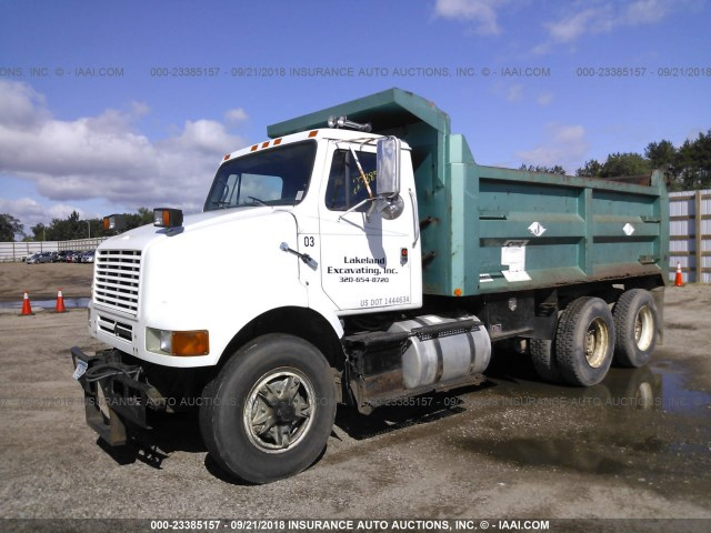 1HSHCGGRXLH210335 - 1990 INTERNATIONAL 8000 8100 WHITE photo 1