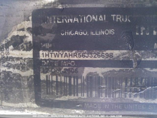 1HTWYAHR56J326698 - 2006 INTERNATIONAL 7000 7600 Unknown photo 10